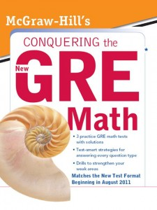 Book review of McGraw Hill's Conquering the New GRE Math