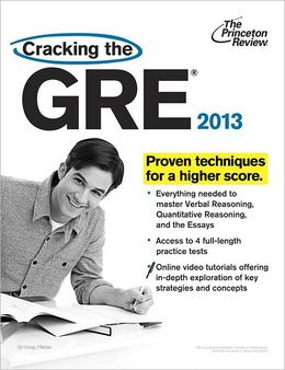 Princeton Review Cracking the New GRE