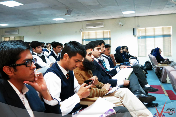 Students at the Seminar in NUST