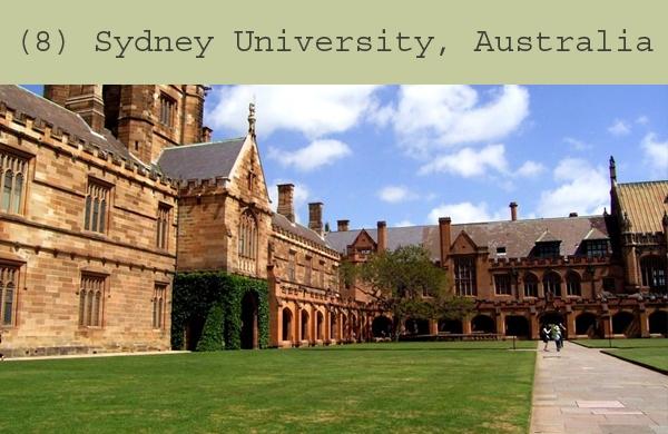 Agriculture sydney university chemistry
