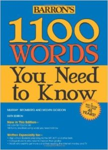 Barron's 1100 Words You Need To Know 'or' Magoosh App