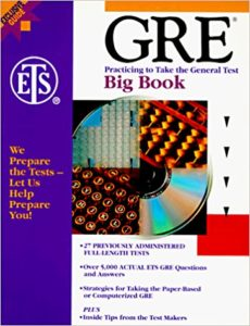 The GRE Big Book by ETS