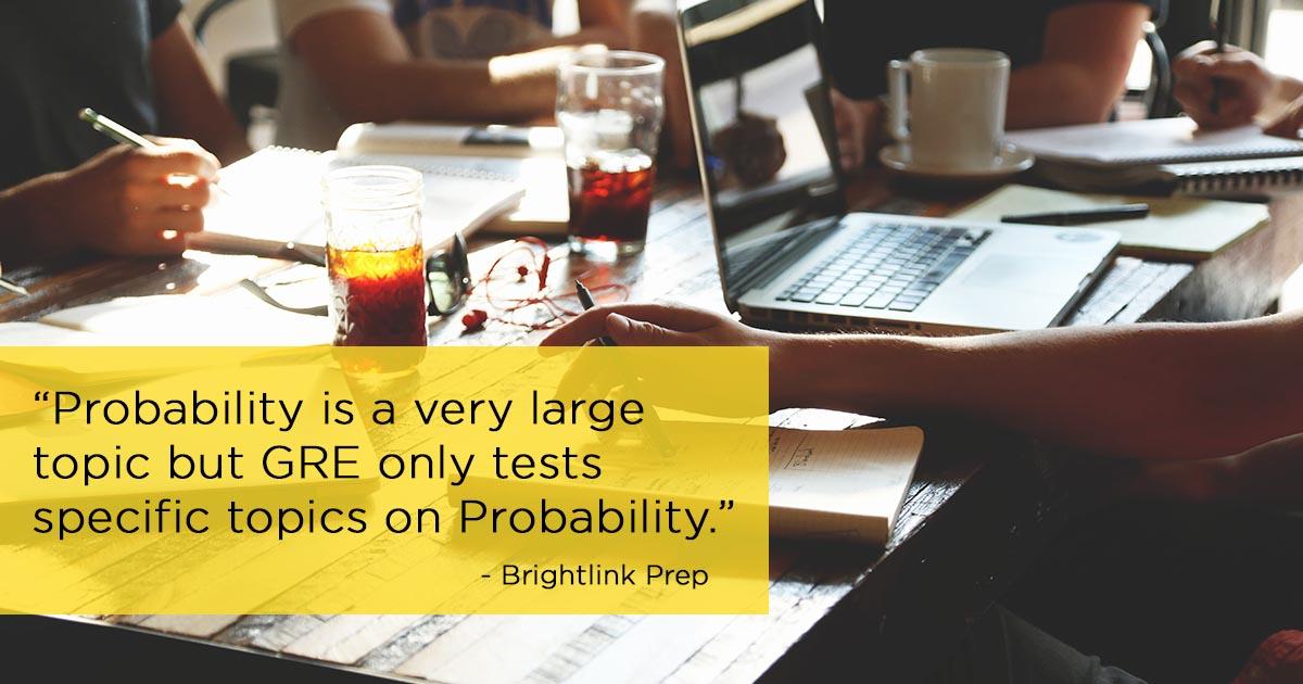 GRE Probability Tutorial & Lesson