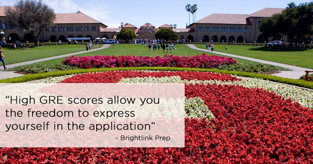 Good GRE Score for Stanford